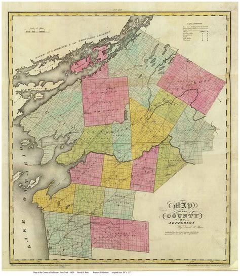 map of jefferson maps of jefferson county new york