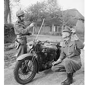 Military Police Motorcyclists Demonstrate How A Metal