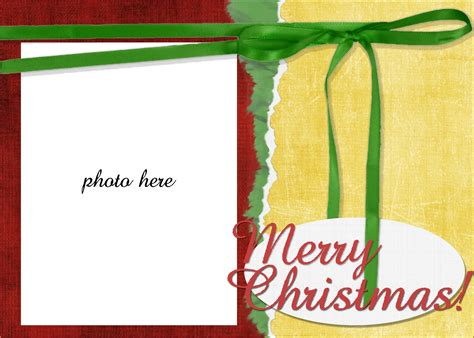 12 Free Christmas Templates For Word Authorizationletters Org Free Card Photo Templates