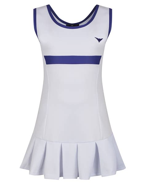 Tannia Dress by White Pleated Tennis Dress Girlsgolf Dress