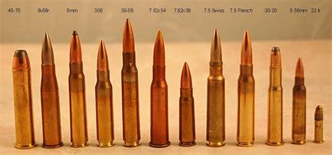 pistol bullet caliber sizes chart rifle caliber size comparison hunting pinterest
