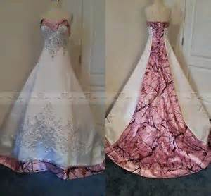 Size colored pink camo wedding dresses 2015 corset bridal gowns ebay