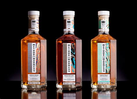 Methods And Madness method and madness whisky branding packaging