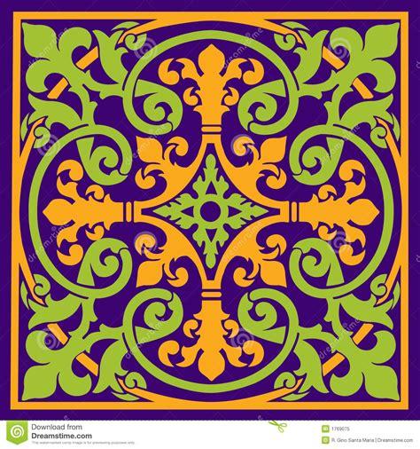make a blue print medieval design royalty free stock photo image 1769075