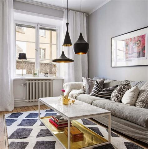Scandinavian Apartment Small Scandinavian Apartment That Accomodates Everything