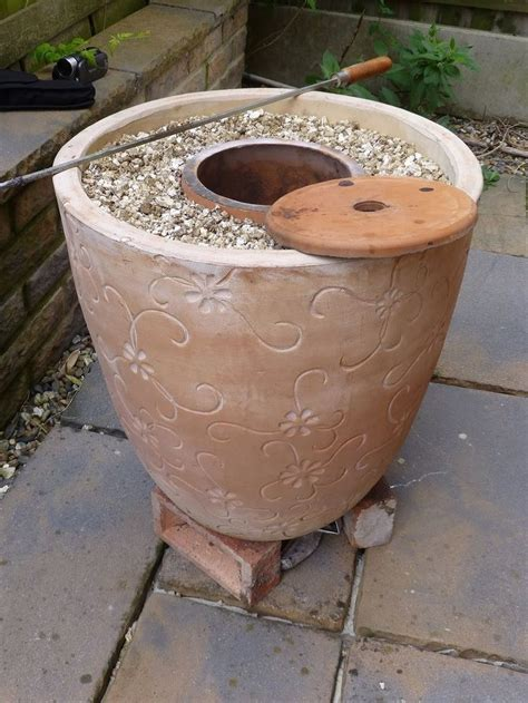 backyard tandoor oven mark two tandoor after my original flower pot tandoor http youtu be 9lewa7f8hiy
