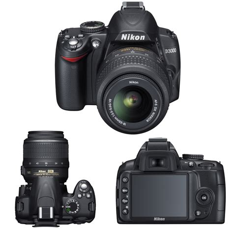 Kamera Nikon D3000 by Nikon D3000 Kit Price Features And Specifications