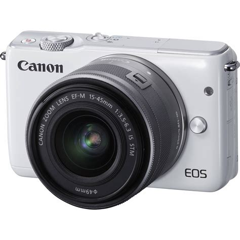 canon mirrorless canon eos m10 mirrorless digital with 15 45mm 0922c011