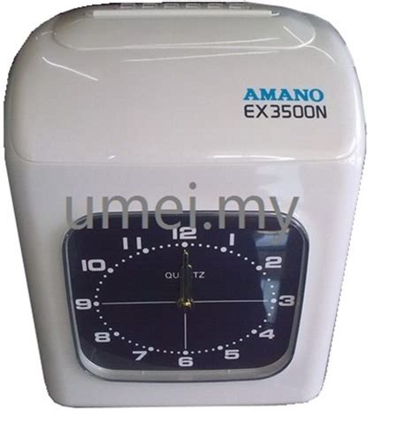 Diskon Amano Time Recorder Ex 3500n time clock machine umei