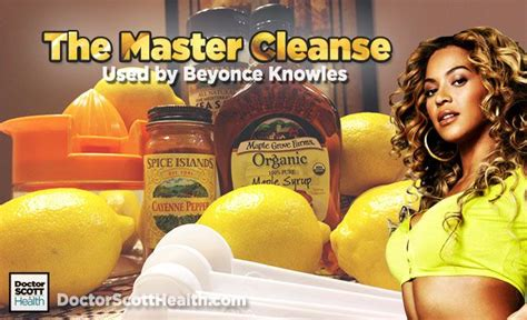 Master Cleanse Detox Recipe by Use This Beyonce Detox Diet Recipe Also Known As The