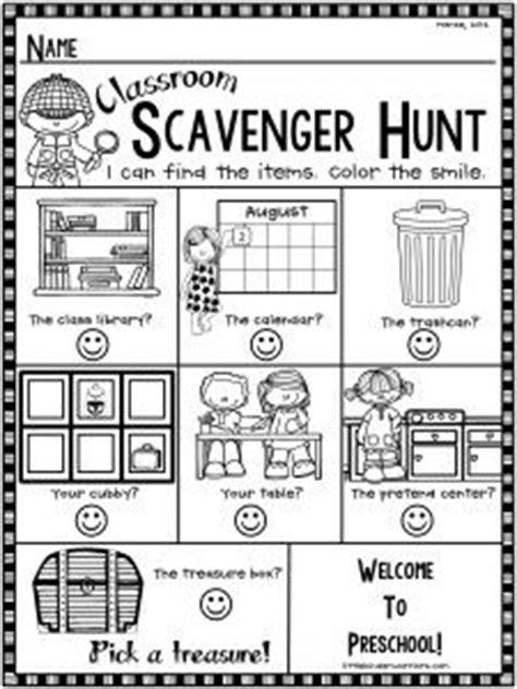 printable open house scavenger hunt open house scavenger hunt freebie for preschool school