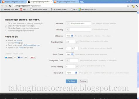 blogger usernames taking time to create instagram how to add a feed in