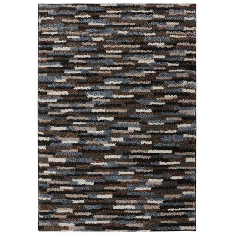 home depot mohawk area rugs mohawk home mesa black 5 ft x 8 ft area rug 472474 the home depot
