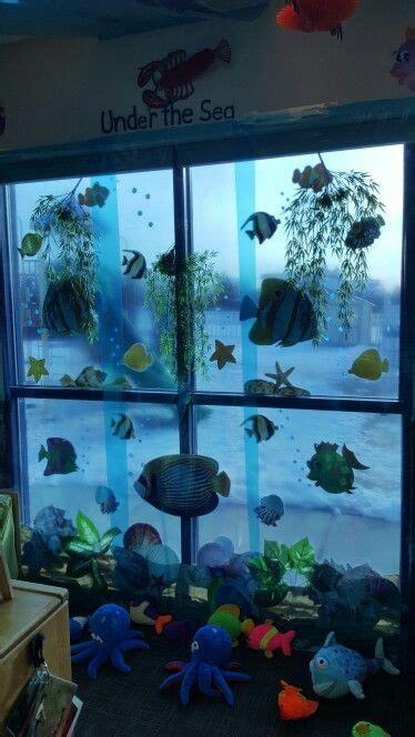 Sea Themed Curtains Decor Theme The Sea Preschool Classroom Decorations Ideas Themes