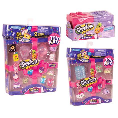 shopkins season 3 basket gift set bundle shopkins series 7 gift bundle 2 pack 5 pack and 12 pack