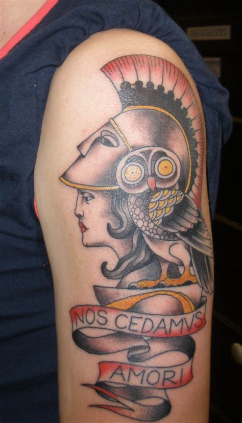 tattoo athena owl athene tattoo by benmcfly on deviantart