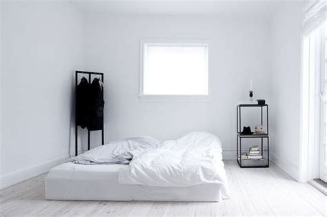 black and white minimalist bedroom minimalist room tumblr