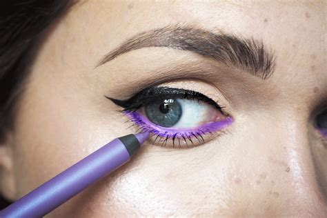 Eyeliner Pixy pixi purple eyeliner louise makeup