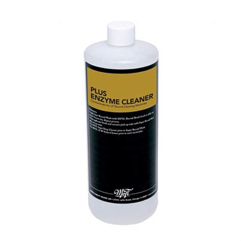 Enzyme Cleaner For Vinyl Records - mobile fidelity mobile fidelity plus enzyme cleaner 32 oz