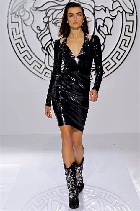 Style For Less A Lot Less Pleather Locklear Second City Style Fashion by Versace Fall Winter 2013 Searching For Style