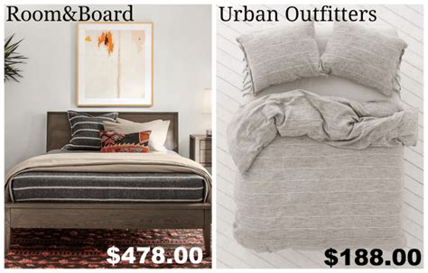 room and board bedding get the look for less room board bedroom dwell beautiful