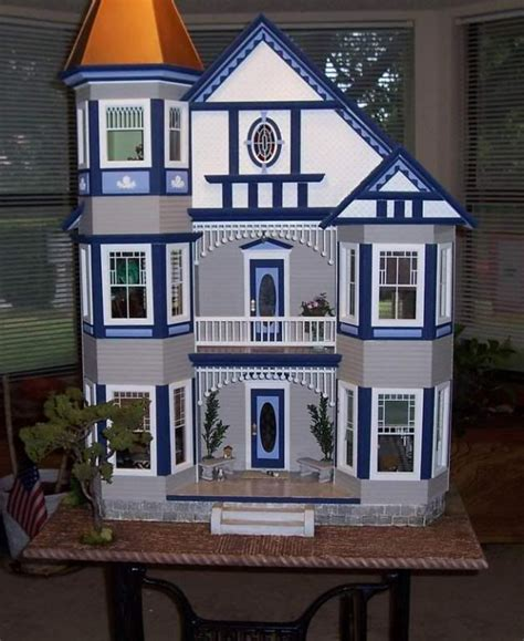 doll house colors painted lady dollhouse kit by real good toys historical