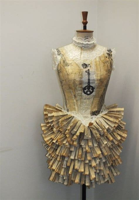 How To Make A Mannequin Out Of Paper Mache - 25 best ideas about paper dresses on paper