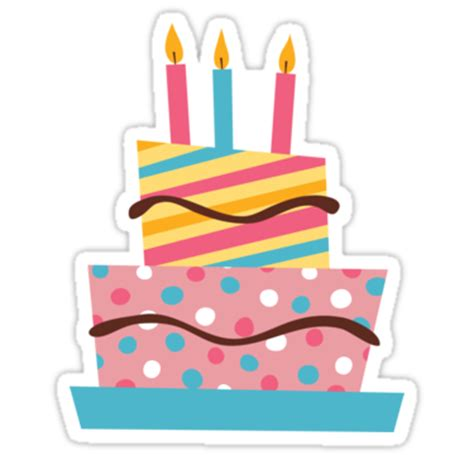 Home Design Studio Free by Quot Retro Birthday Cake With Candles Sticker Quot Stickers By