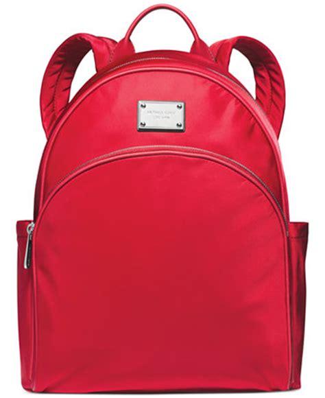 Scarlet Brown Visval Backpack michael michael kors large backpack a macy s