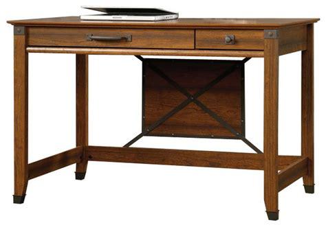 farmhouse writing desk sauder carson forge writing desk washington cherry