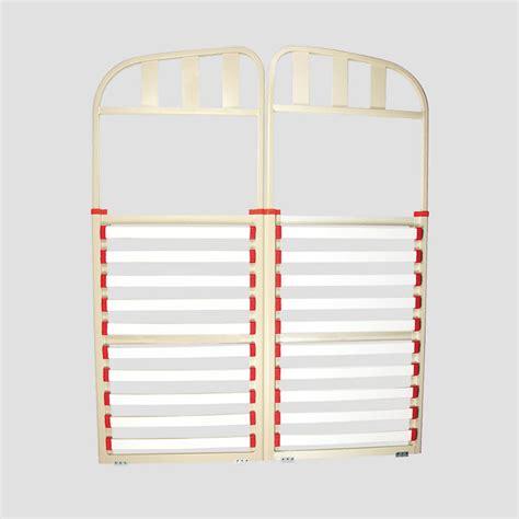 caravan bed frame aluminium double split head coast