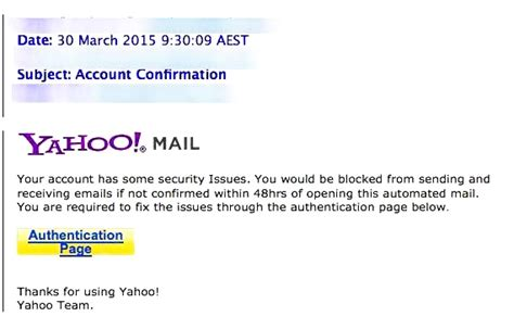 yahoo email virus 2015 another phishing scam is targeting yahoo users webroot