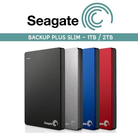 Murah Seagate Harddisk External 2tb Back Up Plus Slim Pouch seagate hdd 1tb 2tb backup plus slim end 9 12 2017 1 15 pm