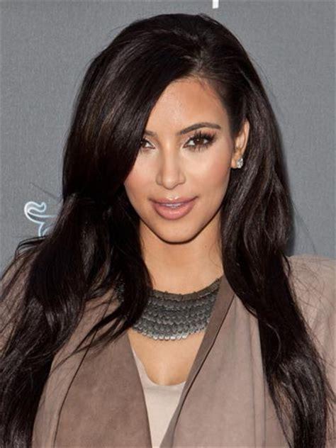 kim kardashian hair color brown 2017 super dark hair colors by celebrities 2017 haircuts