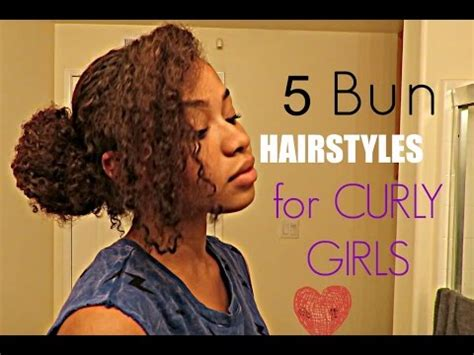 cute curly hairstyles youtube cute curly hairstyles buns youtube