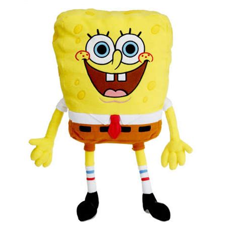 Spongebob Squarepants Pillow by Character Cuddle Pillow Available In Spongebob