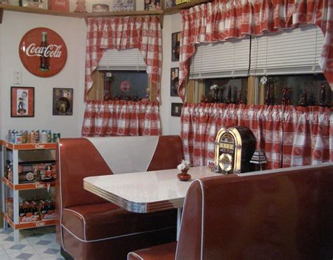 diner curtains 1000 ideas about 50s diner kitchen on pinterest 50s