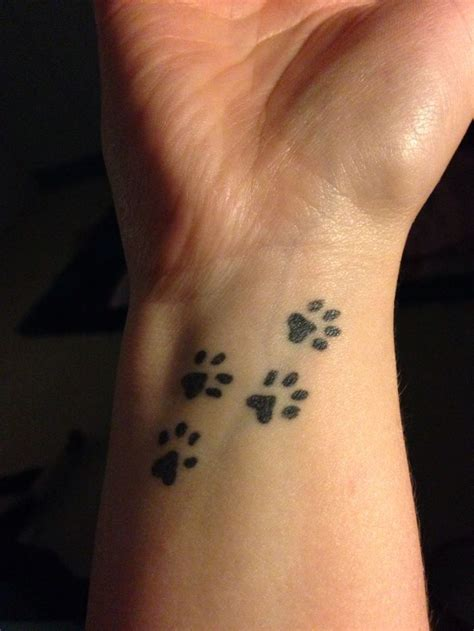 south paw tattoos paw tattoos for wrist designs and