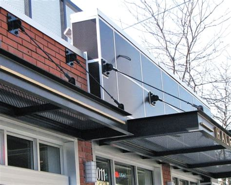 Suspended Awning by Suspended Metal Canopies And Architectural Steel Panels