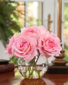 Yellow Silk Flowers - shop lifelike rose nosegay silk flower arrangement at petals