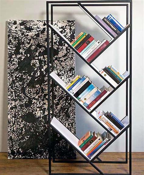 desain rak buku minimalis modern tercantik ndik home