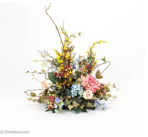 artificial floral arrangements centerpieces silk floral centerpiece arrangement traditional