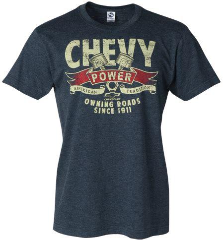 chevrolet t shirts chevrolet power t shirt chevymall