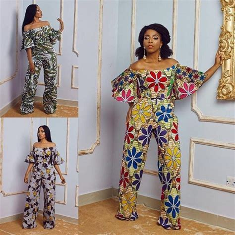 Styles Of Ankara Jump Suits | we love these beautiful ankara jumpsuits a million