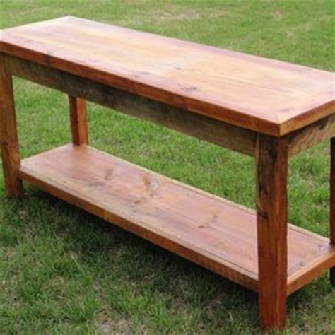 barnwood sofa table crafted reclaimed barnwood sofa table by echo peak
