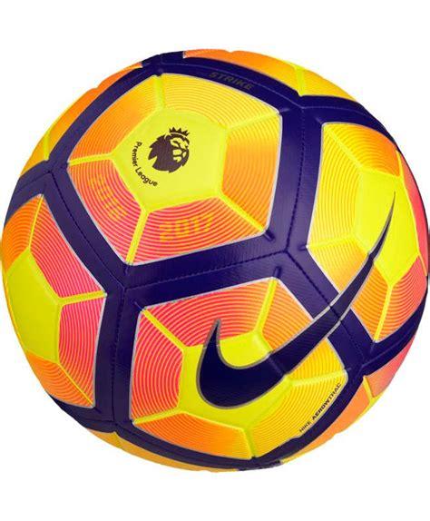epl ball premier league pl strike nike football ball yellow orange