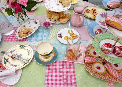 Tea Decor by Table Decorations For Tea Last Week Fuschia Was