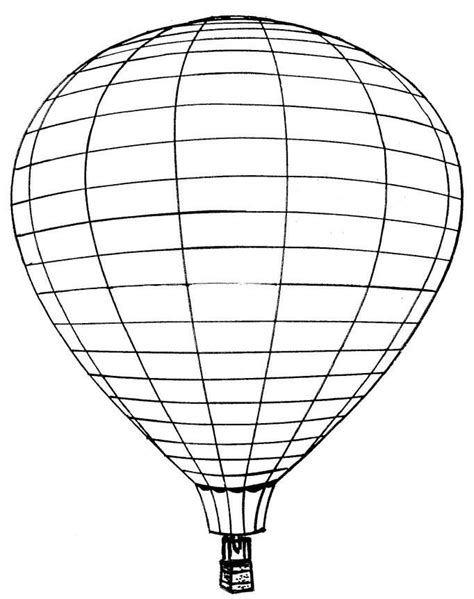 Free balloon coloring pages coloring home