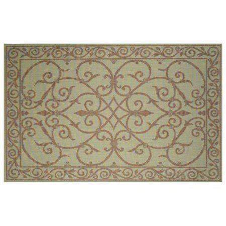 transocean rugs indoor outdoor trans terrace wrought iron indoor outdoor rug aqua
