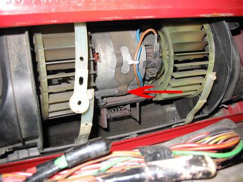 replacing blower motor resistor blower motor and resistor replacement with pics